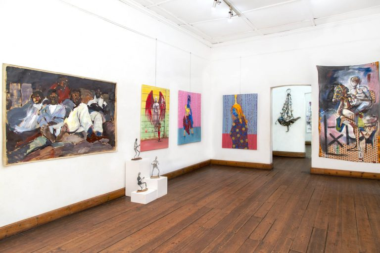 Past and Present Exhibition space
